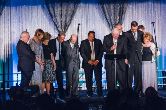 The commissioning prayer for Foothill Christian School.